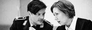 Daniel Ittner und Ines Weymar in TERROR von Ferdinand von Schirach