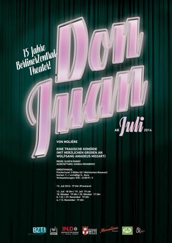 Don Juan   Plakat, 2014