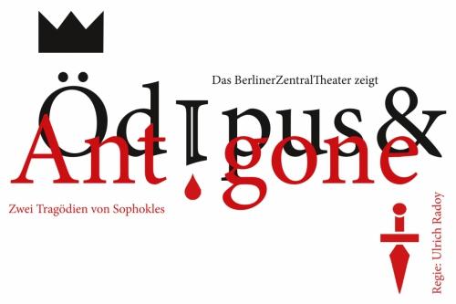 Ödipus/Antigone | Flyer, 2015