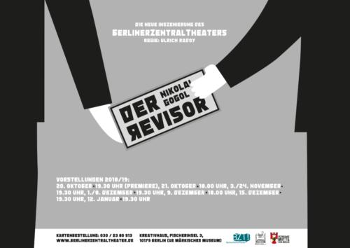 Der Revisor   Plakat, 2018