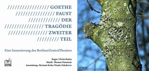 Faust. Der Tragödie Zweiter Teil |Flyer, 2010