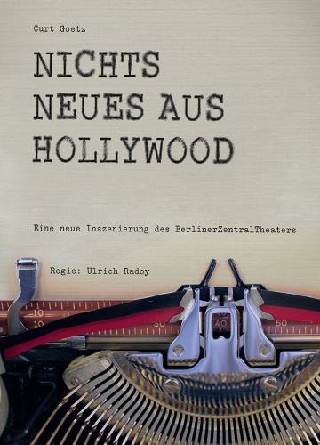 Nichts neues aus Hollywood |Flyer, 2017