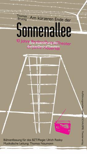 Am kürzeren Ende der Sonnenallee |Plakat, 2009